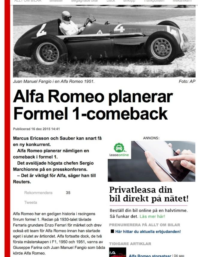 Alfa Romeo planerar Formel 1-comeback | Allt om bilar | Expressen.jpg